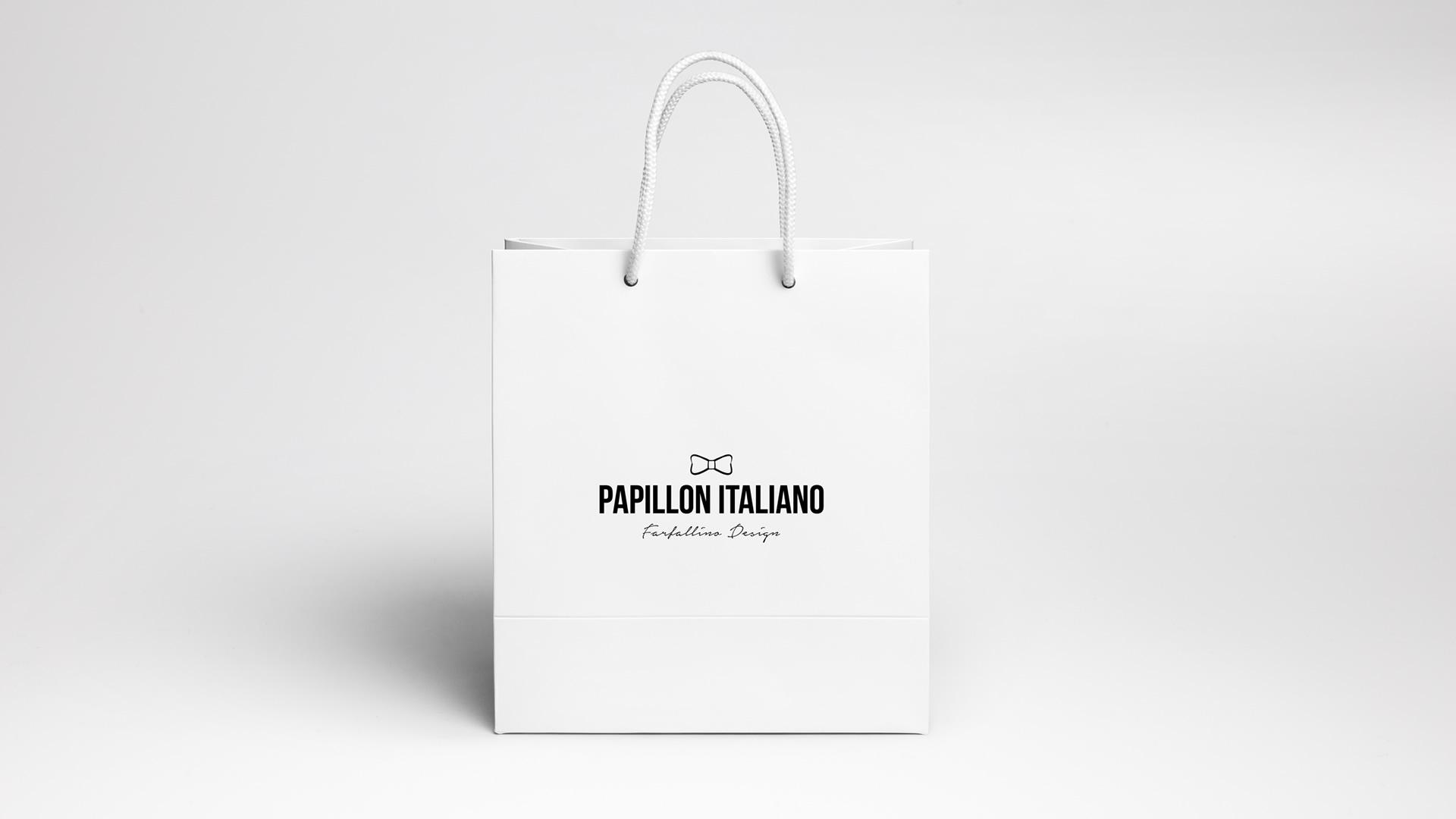 Papillon Italiano Realizzazione logo Brand Identity - web graphic designer - brand - web eCommerce - Patrizio Rossi