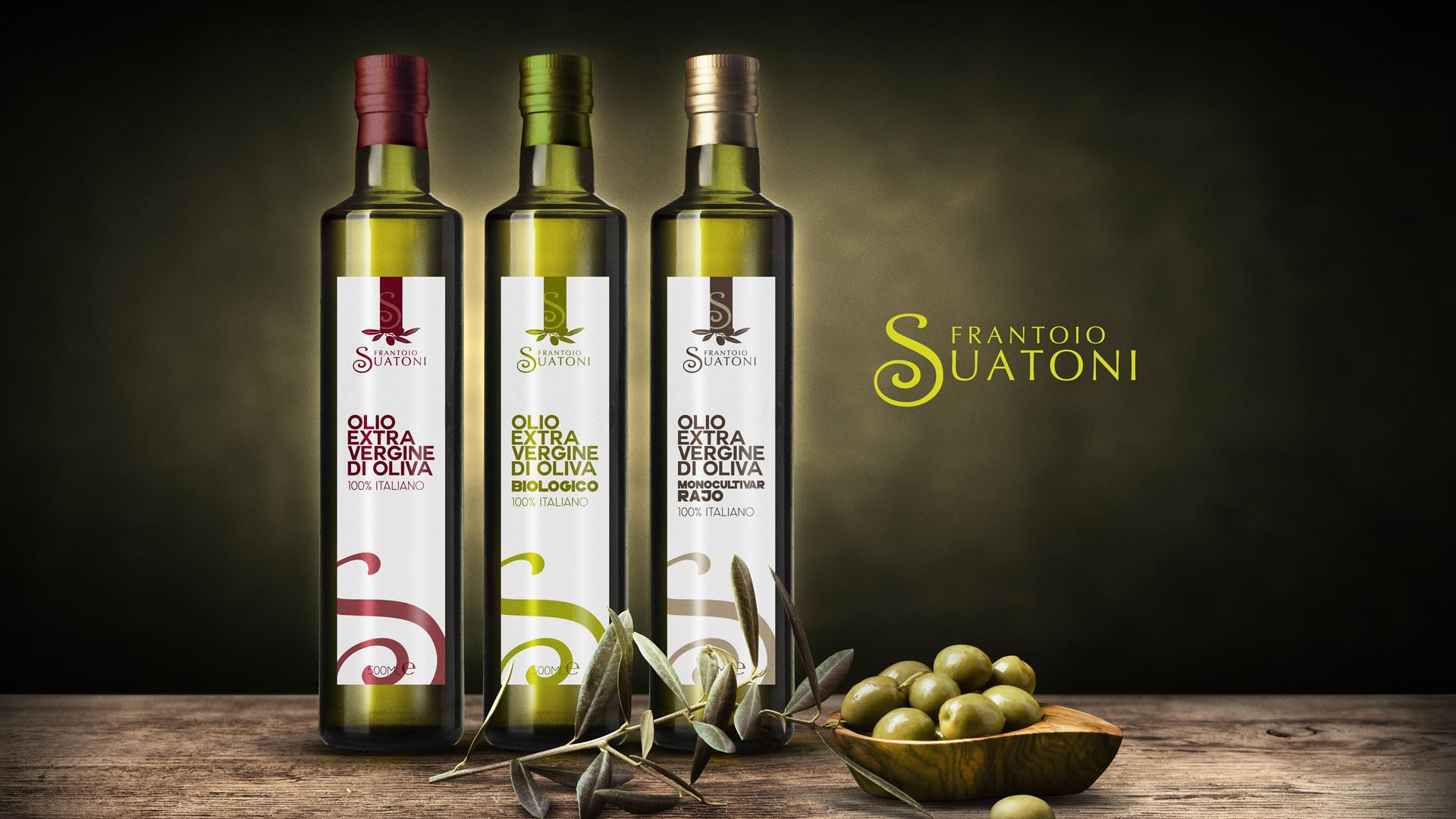 Frantoio Suatoni - Patrizio Rossi - Portfolio - Grafica Etichette Olio